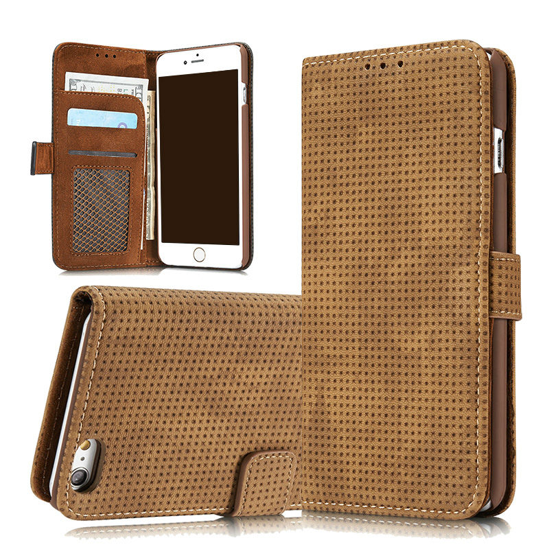 Luxury Flip Leather Wallet Phone Case for iPhone 6 s 6s Plus 6Plus with Card Holder Slot Protective Cover Coque Capinha Vintage