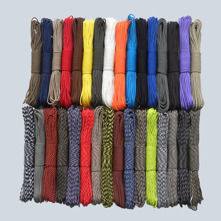 50ft New Paracord 550 Paracord Parachute Cord Lanyard Rope Mil Spec Type III 7 Strand  FREE SHIPPING Climbing Camping