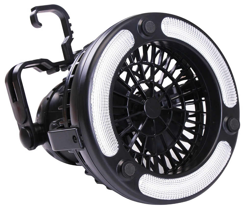 CHICLITS Camping Fan Light 18 LED 2.5W 2 in 1 Flashlight Outdoor Latern Hiking Fishing Camping Bicycle Lamp With Hanging Hook все цены
