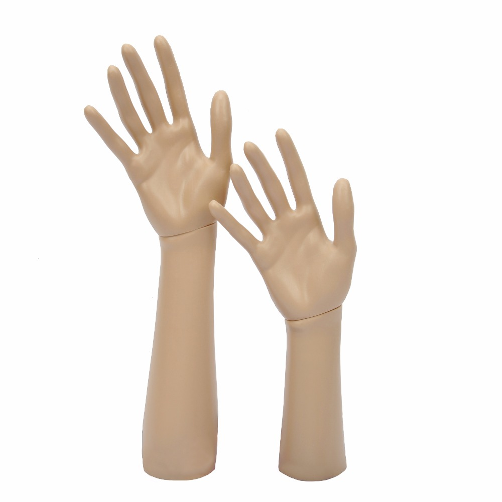 12 or 14 Mannequin Manikin Hand Display Jewelry Bracelet Necklace ring glove Stand holder