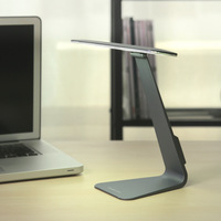 Fashionable Ultrathin Desk Lamp 3 Mode Dimming Touch Switch LED Reading Table Lamp Built In Battery