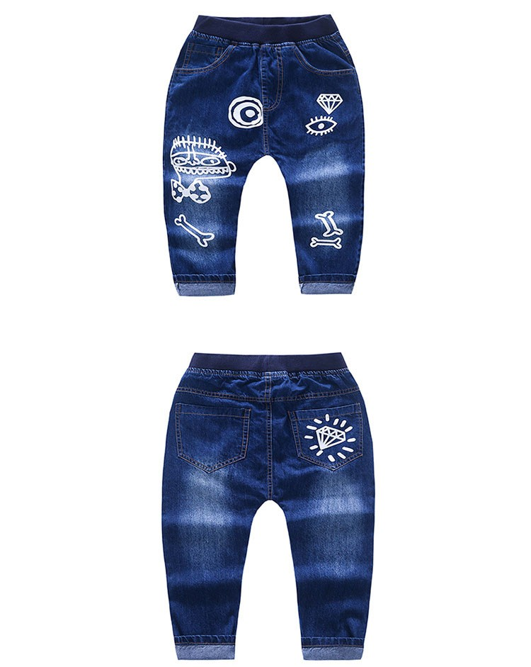 high quality fashion 2017 children jeans for boys kids scrawl pattern denim pants clothing children baby little big boy jeans clothes 6 7 8 9 10 11 12 13 14 15 16 years old (6)
