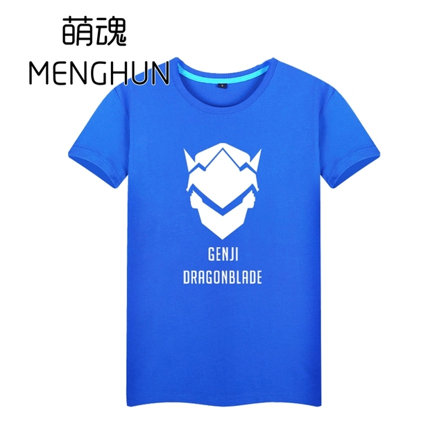 High quality pure cotton material Gamer t shirt watchman pioneer watch over Genji T shirt the dragonblade AC172