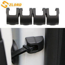 Zlord Car Door Stopper Protection Cover For Ford Focus 2 3 4 Fiesta Ecosport Everest Ranger 2009 - 2017 Car Accessories(China)