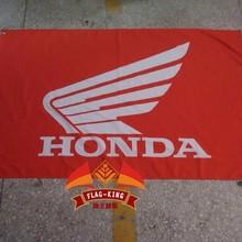 HonDA Гоночный флаг, 90X150 см размер, полиэстер, флаг король