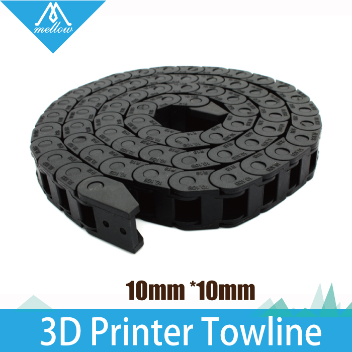 HOT Best  10 x 10mm L1000mm Cable Drag Chain Wire Carrier with end connectors for