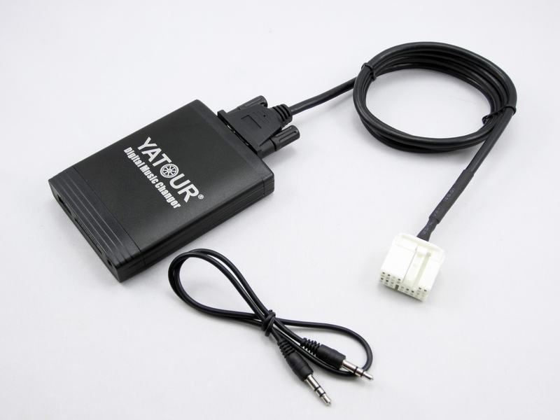 Yatour for Honda Accord Civic Acura 2004 2011 Car Digital Music Changer USB MP3 AUX adapter