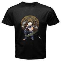 New KAKASHI *Raikiri Anbu Sharingan Anime Cartoon Men's Black T-Shirt Size S-3XL
