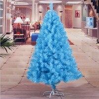 New Year Christmas 1.5 m / 150CM sky blue Christmas family Christmas tree decoration Christmas gift