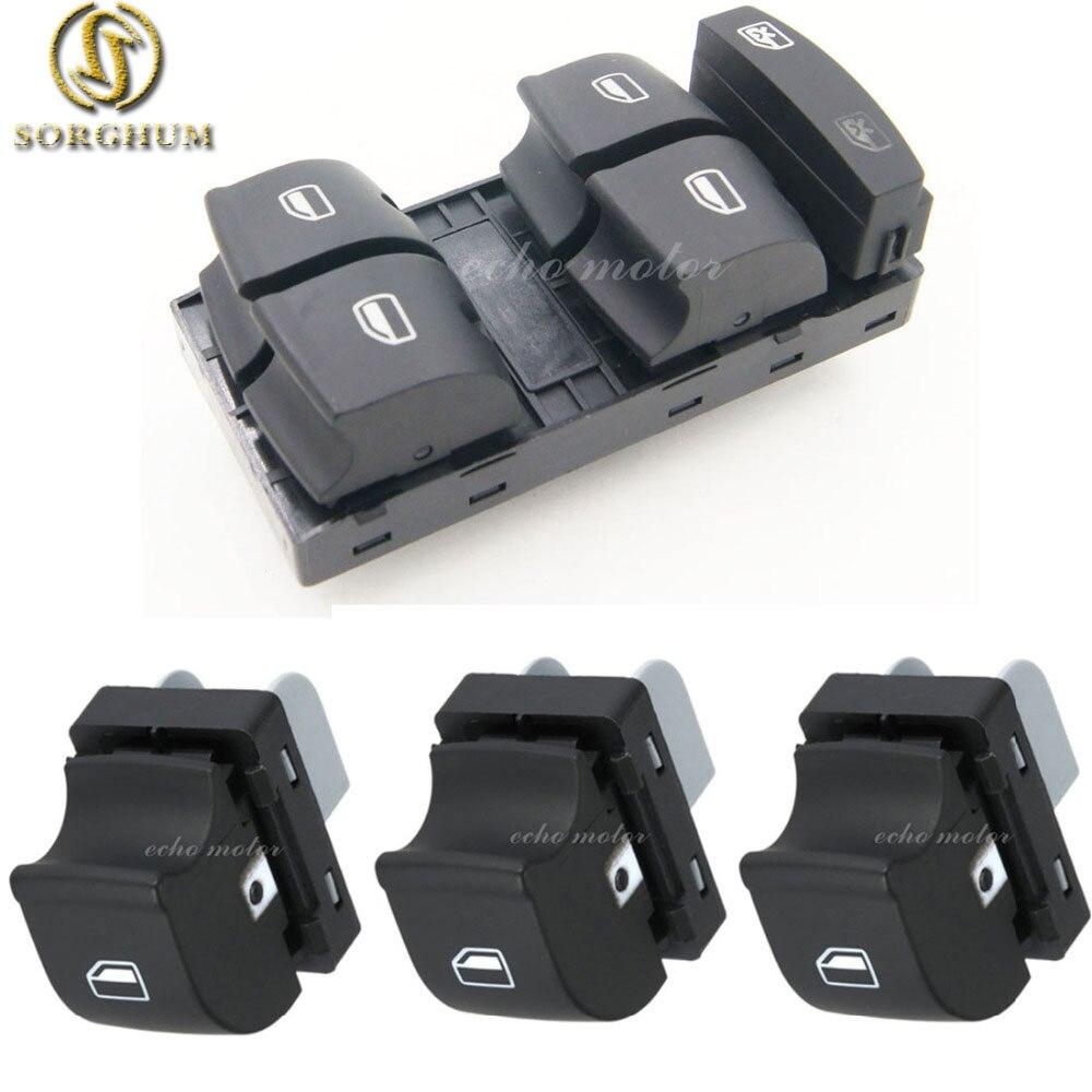 Nova 4 PCS alta qualidade Interruptor De Controle de Janela para AUDI Allroad 2005-2012 A3 A6 S6 C6 Q7 RS6 4F0 959 855 4F0959851