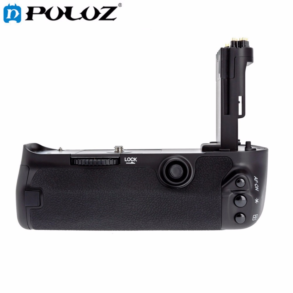 PULUZ Camera Vertical Battery Grip for Canon EOS 5D Mark IV DSLR Camera Replace BG-E20 Compatible for LP-E6 LP-E6N Battery neewer battery grip for canon 5d mark iv camera replacement for canon bg e20 compatible with lp e6 lp e6n batteries