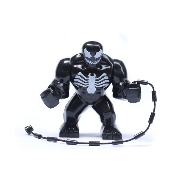Us 347 30 Offsuper Heroes The Avengers Black Big Venom Figures Hulk Assemble Model Building Blocks Kids Toys Gifts In Blocks From Toys Hobbies