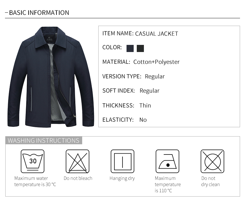 China jacket men casual Suppliers