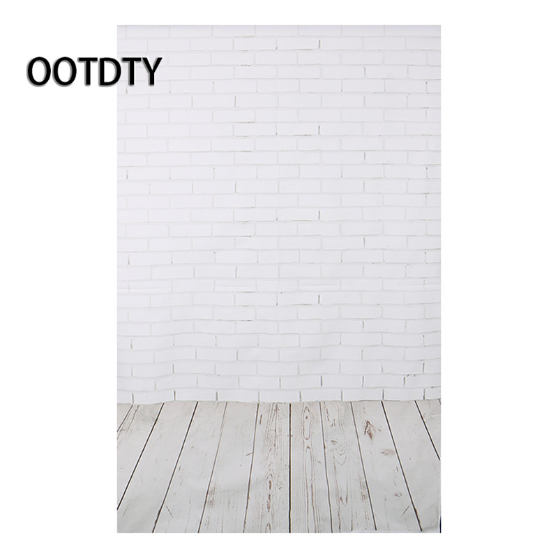 OOTDTY Studio Background Modern Brick Wall Photo Background Vinyl Studio Photography Backdrops Prop DIY shengyongbao 7x5ft vinyl custom photography backdrop prop white brick wall theme studio background nwz 02