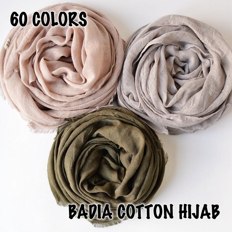 10pcs lot high quality women muslim frayed scarf shawls wraps islamic headwear crinkle solid plain premium