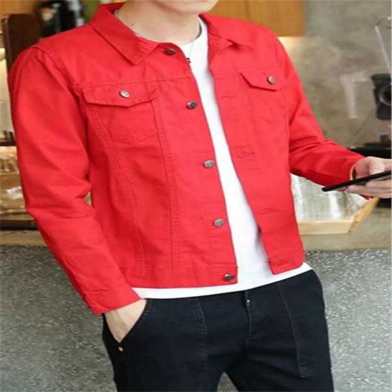 Chaqueta Pureza Abrigos rojo Y blanco abajo Hombres Casual Corta Giro Chaquetas Negro Streetwear Delgada De Los Collar Cazadoras verde CRrCqw