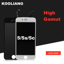 цены на 100% Grade AAA LCD For iPhone LCD Display With Touch Screen Digitizer Assembly Replacement free ship  в интернет-магазинах