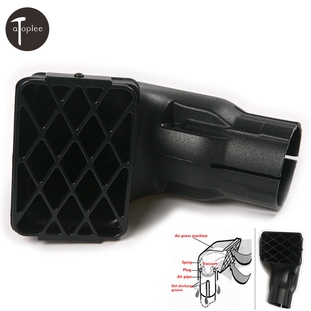 1 шт. 3 (17.6 см)/3.5 (20 мм) ABS воздухозаборника Замена дорожных mudding трубка Off Road трубку глава забора воздуха RAM автомобиля stying