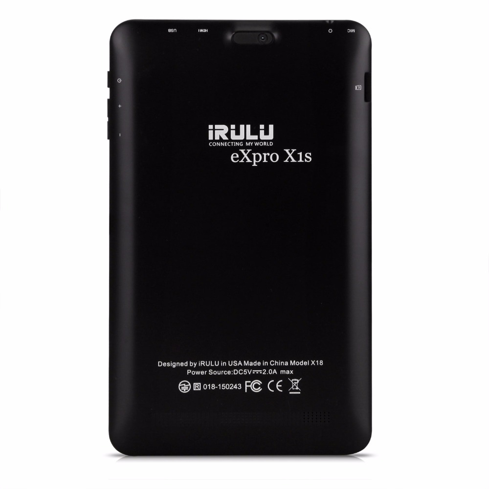 US $97 1 |Hot iRULU eXpro 18S Tablet 8'' Android 5 1 Lollipop 800*1280 IPS  HD Display 1+16GB Quad Core GMS Certified Graphics Tablet -in Tablet LCDs &