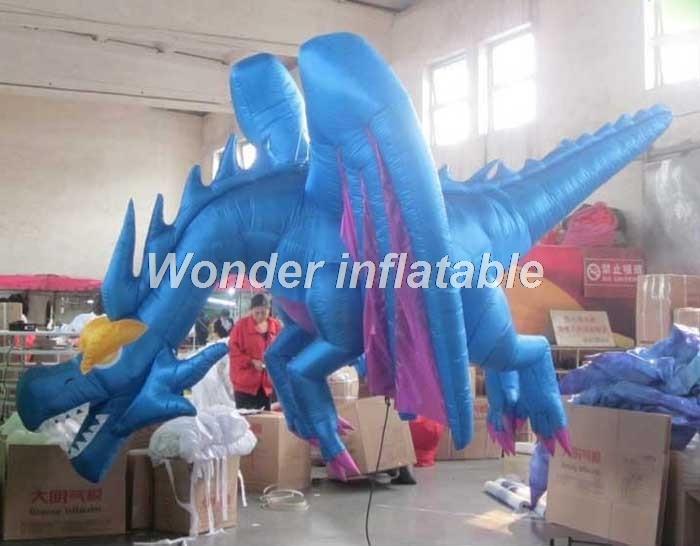 Aufblasbares Tier des heißen aufblasbaren Drachen der - Partyartikel und Dekoration - Foto 3