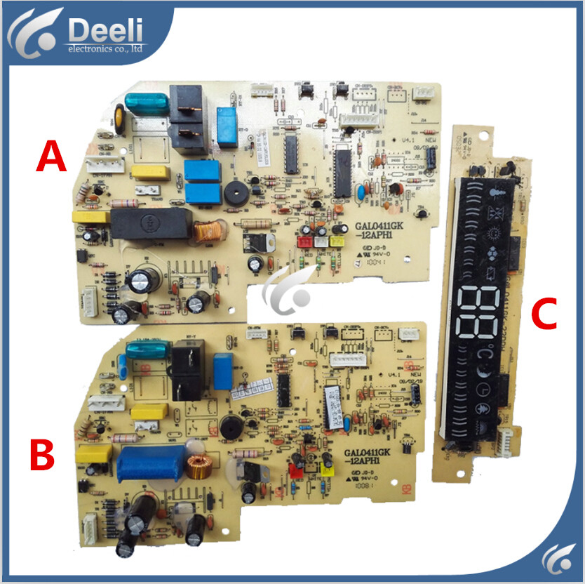 95% new  for Galanz air conditioning Computer board GAL0411GK-12APH1 circuit board GAL0411GK-22DPH used board for galanz air conditioning computer board circuit board gal0411gk 12aph1