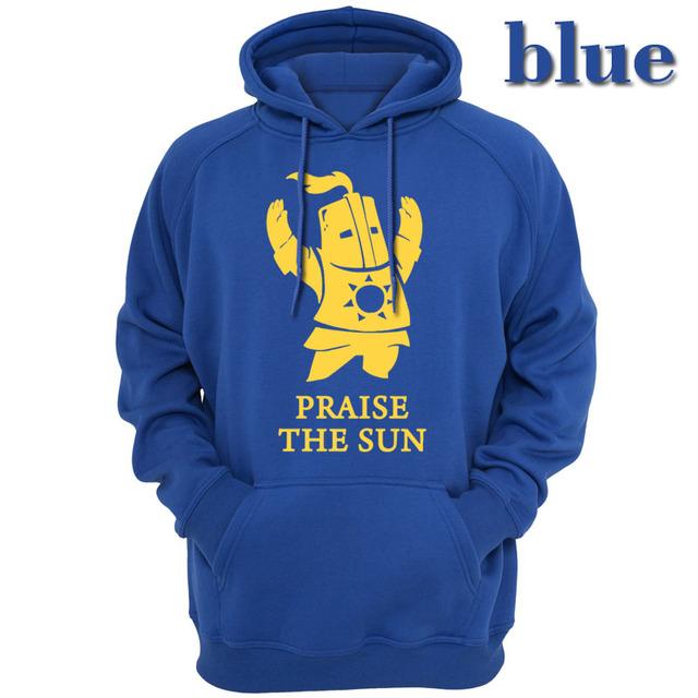 Dark Souls The Dark Sun Video Game Men Outerwear Hoody Hoodies Sweatshirts Casual Gaming Praise Solitaire Souls Sun dark funny