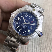 Luxury Brand New Superocean Black Blue Automatic Mechanical Men Watch Stainless Steel Bracelet Sports Watches Sapphire AAA+