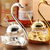 1 PC Swan Spice Jar With A Spoon Sugar Bowl Dishes For Spices Home Fashion Creative