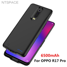 NTSPACE Portable Battery Charger Cases For OPPO R17 Pro Case 6500mAh Power Bank Charging Cover Extenal