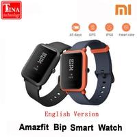 Xiaomi Amazfit Bip Smart Watch Huami GPS Smartwatch English Version Pace Lite Bluetooth 4 0 Heart