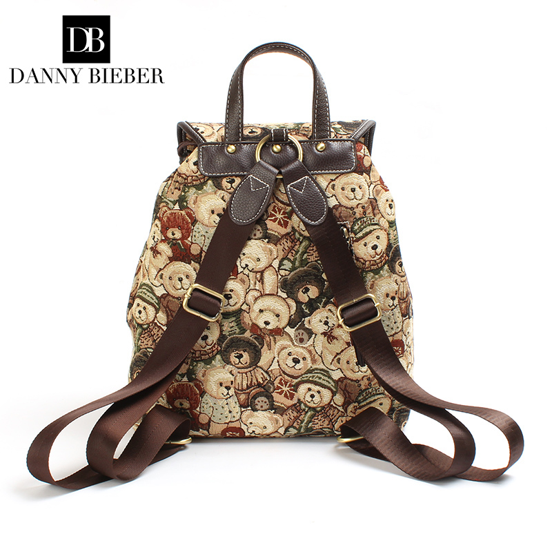 72d68774126 Brand new fashion women s backpack designer college backpack for women girls  schoolbag travel daypack female shoulder bag -in Backpacks from Luggage    Bags ...