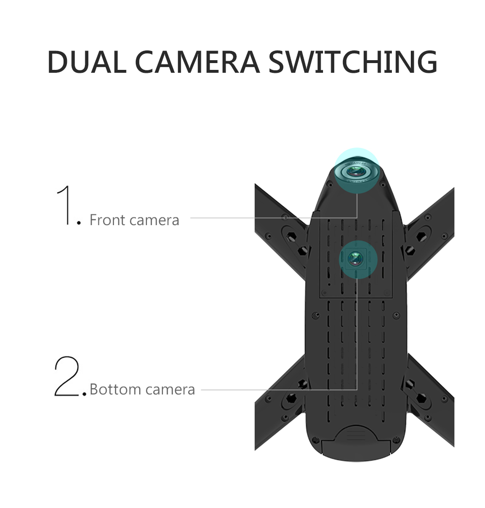 SG106 4K 1080P/720P Drone with Dual Camera and Wide Angle Optical Flow for Real-Time Aerial Video 14