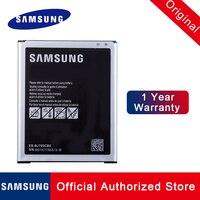 100% bateria original EB-BJ700BBE EB-BJ700BBU para samsung galaxy j7 nfc SM-J700 duos telefone batteria akku 3000 mah + rastreamento não