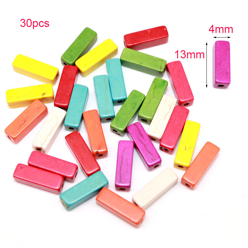 Mixed Colors Artificia Coral stone Beads Round Loose Spacer for Jewelry Making Accessories Handmade Craft