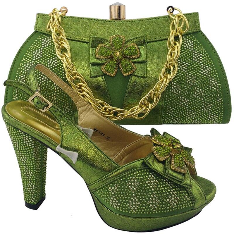 Femmes Strass Or or lemon Pour Couleur Avec Haute Assorties Assorti Teal pourpre bleu Royal Green Chaussures Mariage Et De Italiennes Sac Qualité Rutilant argent rouge T0FOpn0