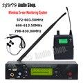 UHF Беспроводная система наблюдения за ушами цифровая сценическая производительность система наблюдения в ухо с usb-гарнитурой приемник пере...