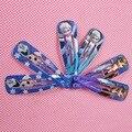 2 pçs/lote Elsa acessórios de cabelo grampo de cabelo pinos grampos de cabelo Anna Anna Headwear para a menina saúde cuidados com o cabelo Bobby Pin Clips