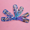 2Pcs/lot Elsa Hair Accessories Anna Clip Hair Pins Hair Clips Anna Headwear for Girl Health Hair Care Bobby Pin Clips