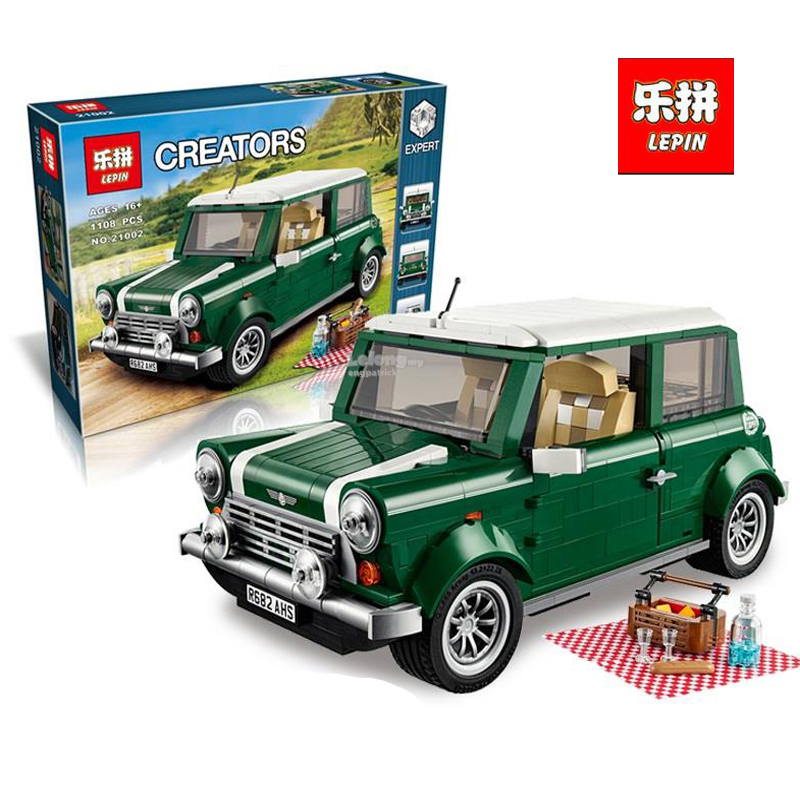 Lepin 21002 technic series 1108Pcs car Model Building Kits Blocks Bricks Toys Compatible With Hands-on LegoINGlys Gifts 10242 lepin technic series lepin 21004 ferrarie f40 sports car model building blocks kits bricks toys compatible with 10248