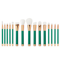 Professional Make Up Brushes 15pcs Brush Set Professional Nature Bristle Brushes Beauty Essentials Makeup Brushes Top