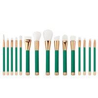 Profesyonel makyaj fırçalar 15 adet fırça seti profesyonel Doğa kıl fırçalar güzellik essentials makyaj fırçalar en kaliteli