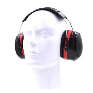 Image 3 - מתקפל ראש אטמי אוזניים נגד רעש אוזן מגן NRR 30dB לעבודה מחקר שינה עץ ירי שמיעה הגנת אוזן בטיחות