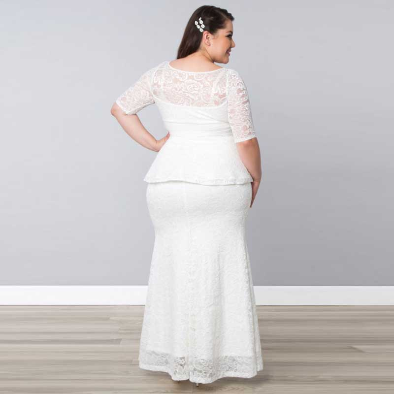 Image result for wedding dress two piece plus size