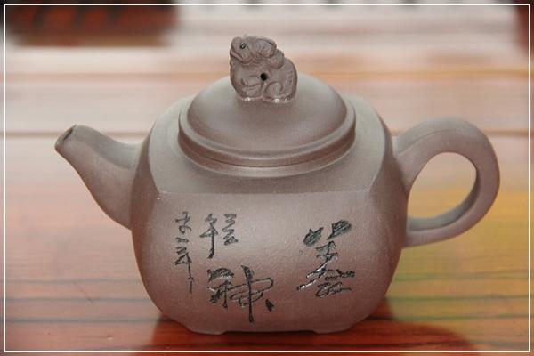 Chinese Yixing tea pot for the Kung Fu tea set pu er teapot s name Strengthen