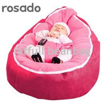 Herzhaft Nur, Keine FÜllungen-rosado Rosa Sitzsack Baby Schlafen Sitzsack Sitz Rohstoffe Sind Ohne EinschräNkung VerfüGbar