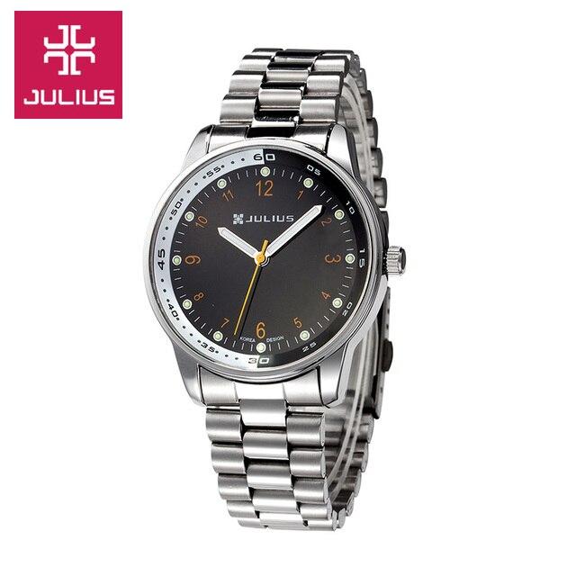 077a041cdba Top Mulher Homme Julius homens Relógio de Pulso Retro Moda Horas Vestido de  pai Natal de