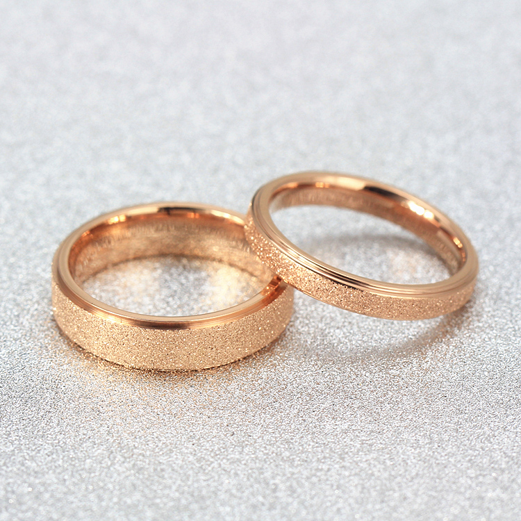 Rose Gold Couple Rings Best Rose 2017