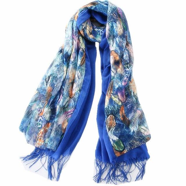 Primavera estate 2018 del merletto di doppio strato tenere in caldo  imitazione del cachemire sciarpa della nappa della sciarpa dello scialle  della signora ... 220a800963f7
