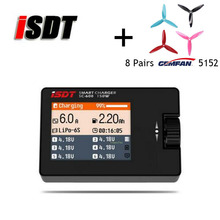 ISDT Ladegerät SC-608 MINI Smart Balance Ladegerät Outfield Lipo Ladegerät 150 Watt 8A 1-6 S für Mini Quadcopter 8 pairs Gemfan 5152