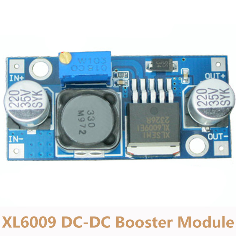 3V~32V to 5V~40V DC-DC Step Up Power Supply Module XL6009 Adjustable Boost Regulator Module Super LM2577 ...